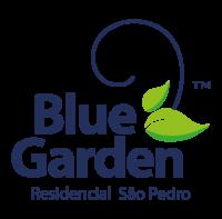 Logo - Blue Garden - São Pedro - Cor